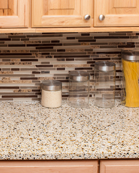 Recycled Glass Surfaces Evolved From A Growing Demand For Products Made  From Renewable And Recycled Materials. These Recycled Materials Are  Combined With A ...